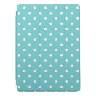 Teal Sky Polka Dots iPad Pro Cover