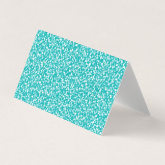 Teal Speckled Blank Greeting Cards