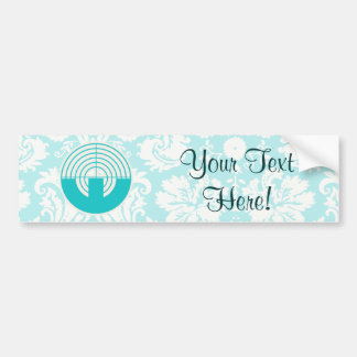 Teal Sport Shooting Bumper Stickers
