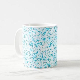 Teal Spotted Mug