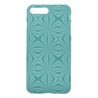 Teal Squiggly Squares iPhone 8 Plus/7 Plus Case
