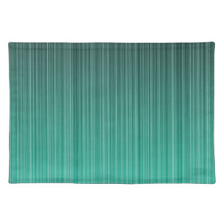 Teal Striped Place Mat