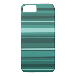 Teal stripes iPhone 8/7 case