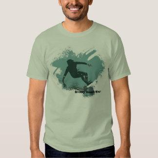 Teal Surfer Guy T Shirts