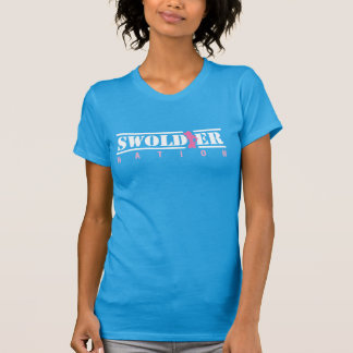 Teal Swoldier Nation T-Shirt For Her