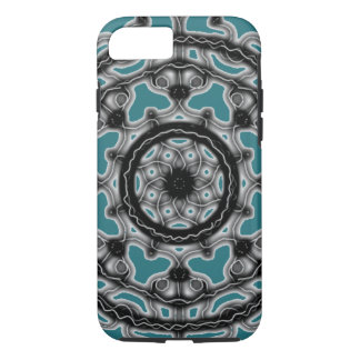 Teal ~Tech~Lace~ Spring denim blossom ~ iPhone 8/7 Case