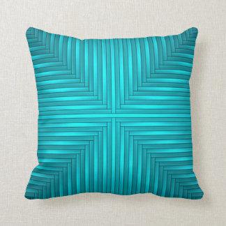 Teal Throw Pillow Throw Cushion