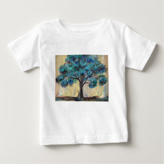 Teal Tree Baby T-Shirt