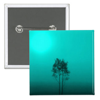 Teal Trees Pins
