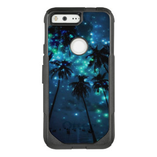 Teal Tropical Paradise Google Pixel Otterbox Case