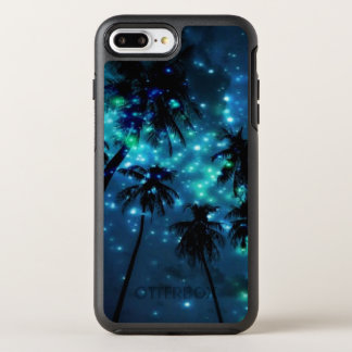 Teal Tropical Paradise iPhone 7 Plus Case