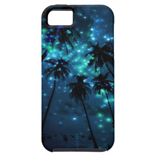 Teal Tropical Paradise iPhone SE/5/5s Phone Case