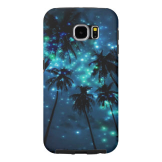 Teal Tropical Paradise Samsung Galaxy S6 Case