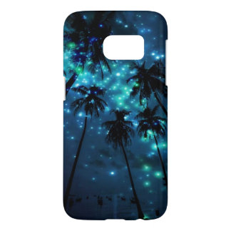 Teal Tropical Paradise Samsung Galaxy S7 Case