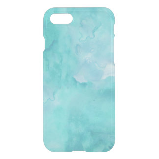 Teal Watercolor iPhone 7 Case