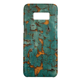 Teal & Yellow Peeling Paint Case-Mate Samsung Galaxy S8 Case