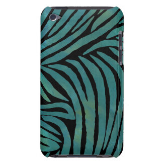Teal Zebra Print Case-Mate iPod Touch Case