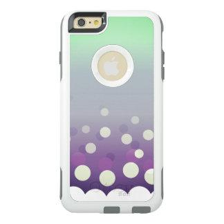Tealy-Purple Bubbles OtterBox iPhone 6/6s Plus Case