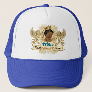 Team African Prince Royal Baby Shower Hat