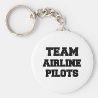 Team Airline Pilots Keychain