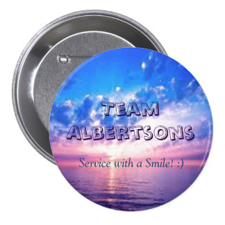 """Team Albertsons"" Button"