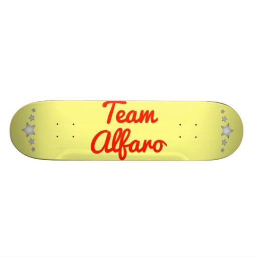 Team Alfaro Skate Board Decks