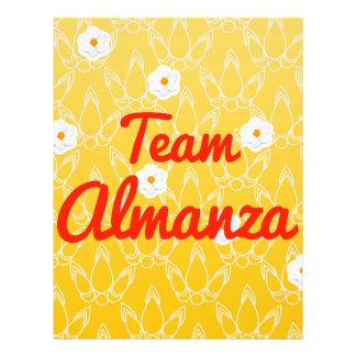 Team Almanza Personalized Flyer