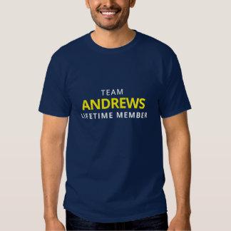 Team Andrews Lifetime Member Tee