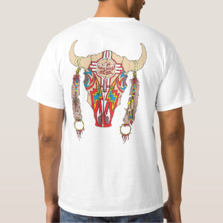 Team Apache Bison white T-Shirt