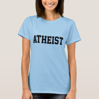 Team Atheist baby-doll t-shirt
