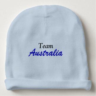Team Australia cotton beanie Baby Beanie