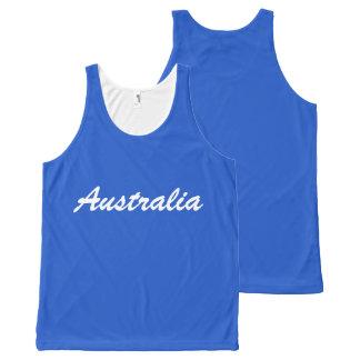 Team Australia tank top