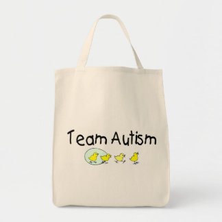 Team Autism (Chicks) Tote Bag