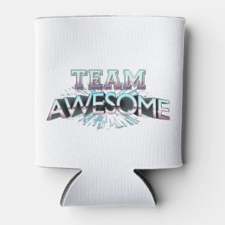 Team Awesome Can Cooler