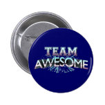 Team Awesome Pinback Button
