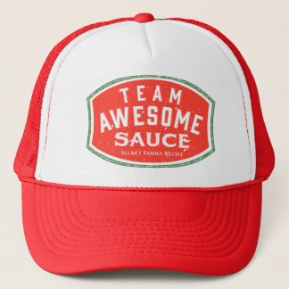 Team Awesome Sauce Trucker Hat