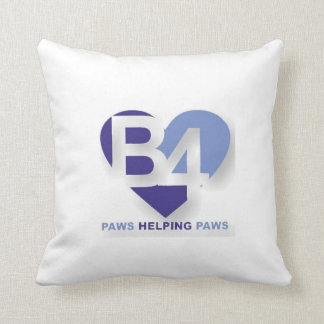 Team B4 Throw Pillow