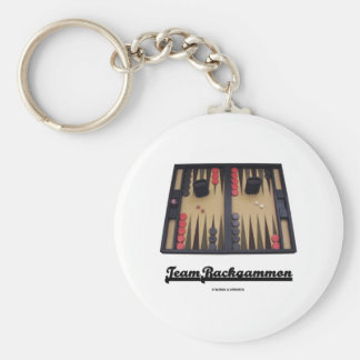 Team Backgammon Key Ring