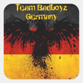 Team Badboyz Germany Grunge Sticker