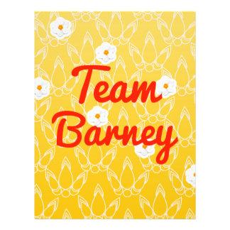 Team Barney Flyers
