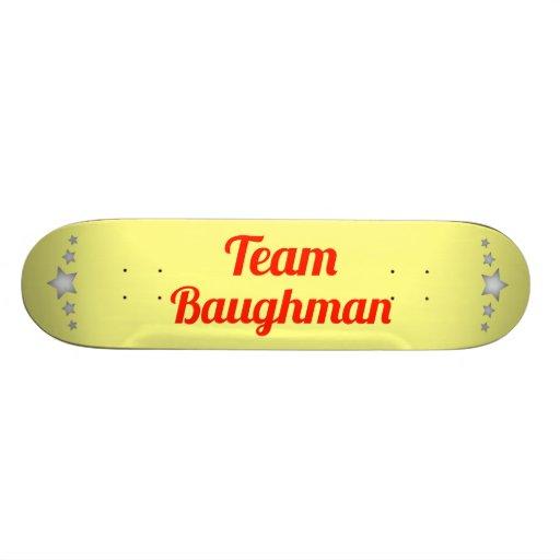 Team Baughman Skate Board
