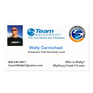 Team Beachbody Business Card
