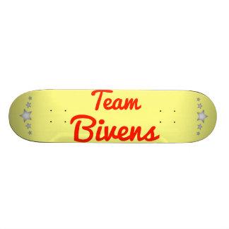 Team Bivens Skate Board