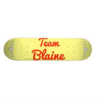Team Blaine Custom Skate Board