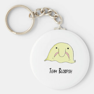 team blob basic round button key ring