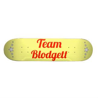 Team Blodgett Skate Board Decks