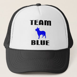 Team Blue Trucker Hat