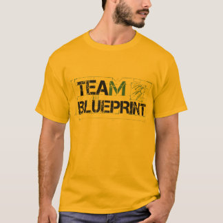 Team Blueprint Gold Shirt