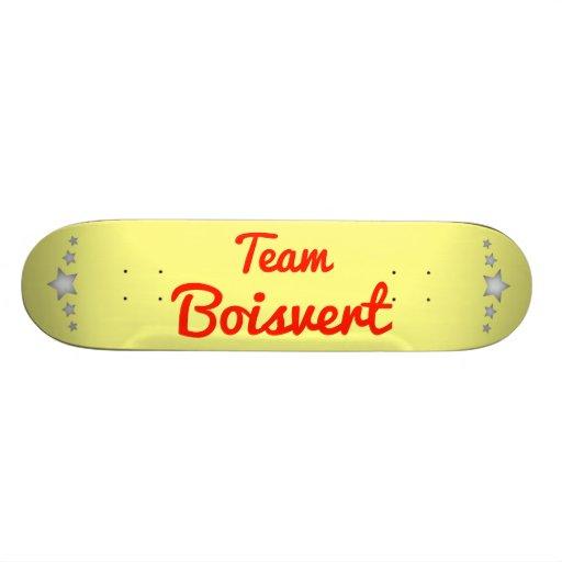 Team Boisvert Skate Deck
