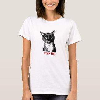 """""""Team Boo"""" Tuxedo Cat T-shirt"""